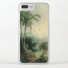 Martin Johnson Heade - Sunrise In Nicaragua Clear iPhone Case