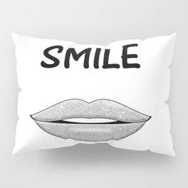 Smile! Pillow Sham