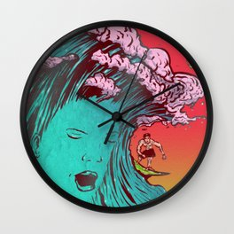 SURFBORTING Wall Clock