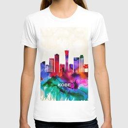 Kobe,city Skyline T-shirt