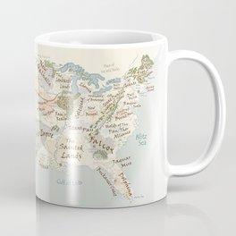 Fantasy Football Map Coffee Mug