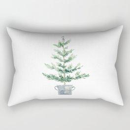 Christmas fir tree Rectangular Pillow
