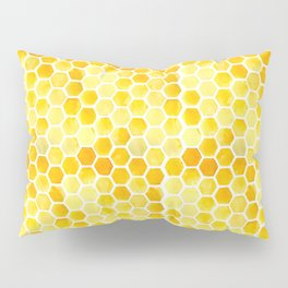 Watercolour Honeycomb Pillow Sham
