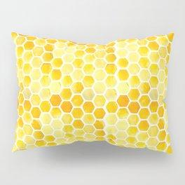 Watercolour Honeycomb Pillow Sham