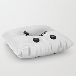 White Domino / Domino Blanco Floor Pillow