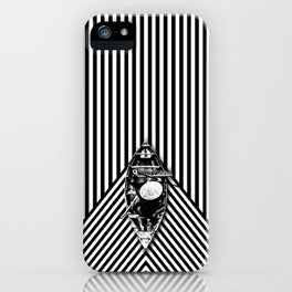 Passing through the lines iPhone Case