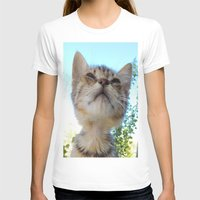 kitten T-shirts featuring Kitten by Ricarda Balistreri