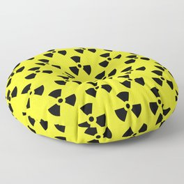 Radiation Pattern Floor Pillow