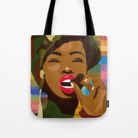 army Tote Bags featuring Army Fatigue by Original Bliss