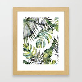 TROPICAL GARDEN 2 Framed Art Print