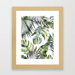 TROPICAL GARDEN 2 Framed Art Print