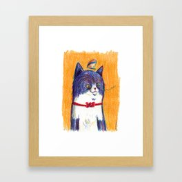 Miau Cat Framed Art Print