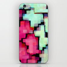 Color puzzle iPhone & iPod Skin