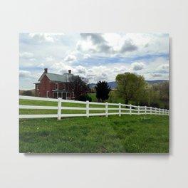Virginia Farmhouse Metal Print