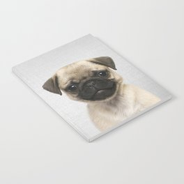 Pug Puppy - Colorful Notebook