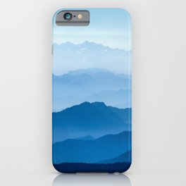 Blue Mountains iPhone Case
