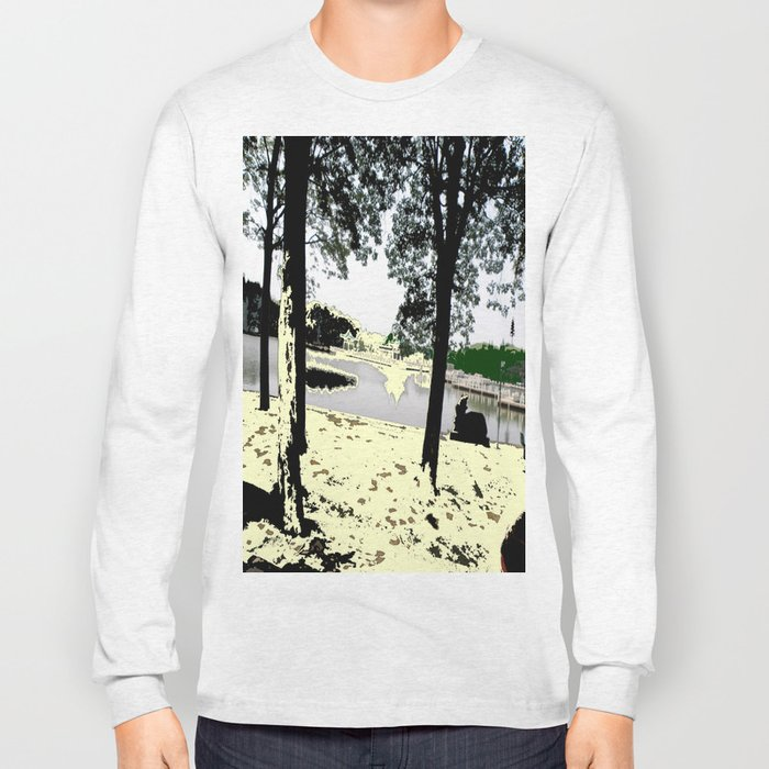 A Pleasant Day Long Sleeve T-shirt