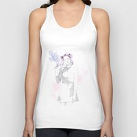 bubblegum Tank Tops featuring bubblegum by tigermlk