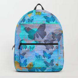 Simple Butterfly Geometric Print Backpack