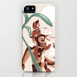 Sun Hat iPhone Case
