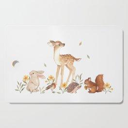 Fawn & Friends Cutting Board