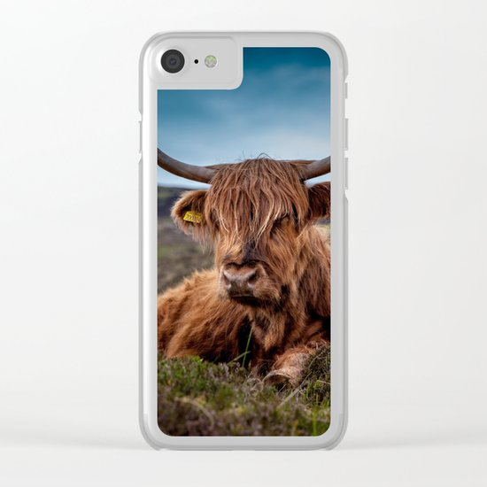 Beef Nature Clear iPhone Case