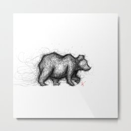 The Bear Necessities Metal Print