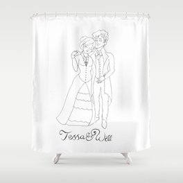 Tessa & Will Shower Curtain