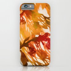Morning Blossoms 2 - Red Variation iPhone 6s Slim Case