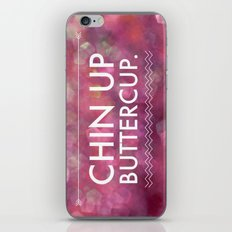 Chin Up Buttercup - Sparkle Pink iPhone & iPod Skin