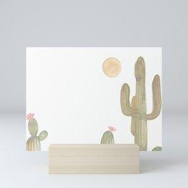 Cacti Mini Art Print