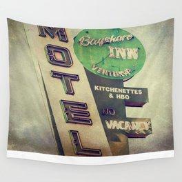 Bayshore Motel Wall Tapestry