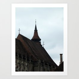 The Black Church Art Print