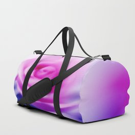 Abstract blurred pink roses 2 Duffle Bag