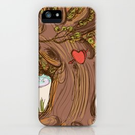 Tree love  iPhone Case