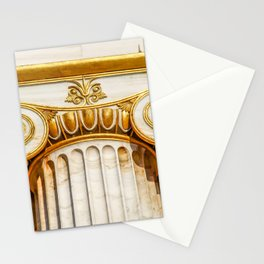 capital of Ionian column Stationery Cards