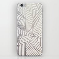 stripe iPhone & iPod Skins featuring stripe by HooVeHee