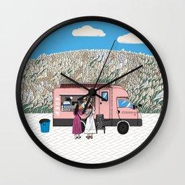 Cafe in Jeju #1 Wall Clock
