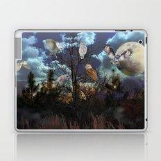 Owl tree Laptop & iPad Skin