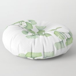 GINKGO, painting by Frank-Joseph Floor Pillow