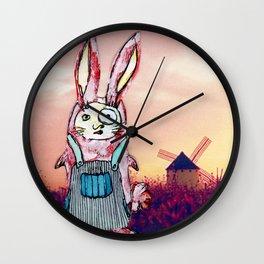 Harriet Quixote Wall Clock