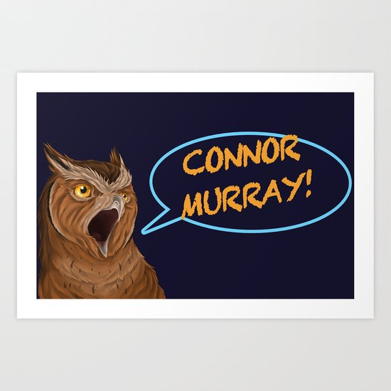 connor murray Art Print