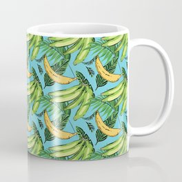 Plantain Paradise Pattern - For true plantain fans Coffee Mug