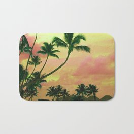 Bora Bora Tahiti Sunset 2 Bath Mat
