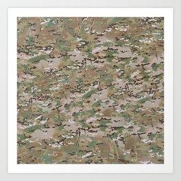 Multicam Camo 2 Art Print