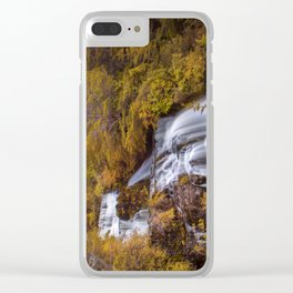 Cascada del Toro Clear iPhone Case