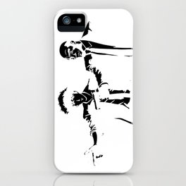 Cowboy Bebop - Spike Jet Knockout Black iPhone Case