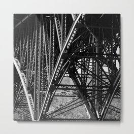 Strawberry Mansion Bridge, Philadelphia Metal Print