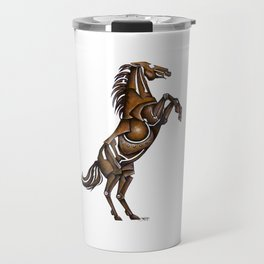 Metal Stallion Travel Mug