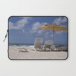 Beach Chairs Laptop Sleeve